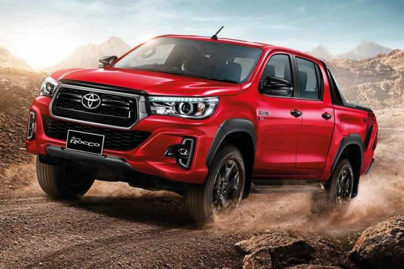 2018 Hilux Facelift breaks cover in Thailand